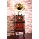 Classical Wooden Electric Gramophone (Hong Kong)