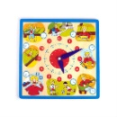 Best Gift Wooden Clock Puzzle For Kids (Taiwan)