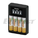 Quick 4 Position USB Battery Charger (Hong Kong)