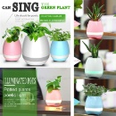 Touch Flower To Playing Music Bluetooth Speaker with LED Light (Hong Kong)