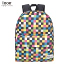 Fashion Gingham Checks Backpack for Girls (China)