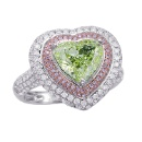Natural Green Diamond Ring (USA)