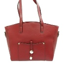 Red Leather Tote (Hong Kong)