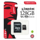 Kingston Canvas Select Class 10 microSD Card with SD Adapter (China)