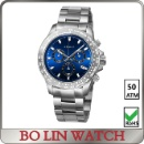 50ATM Watch Blue Enamel Dial (China)