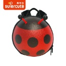 Mini Shiny Ladybug Backpack  (China)