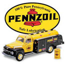"1:25 Scale (11"") 1951 Pennzoil Ford Oil Tanker (Hong Kong)"