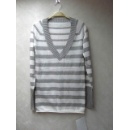 08100178#100% Cotton 12GG Lady's Knitted Wear (Hong Kong)