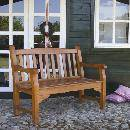 Two Seat Wooden Bench (Germany)