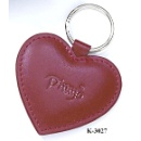 Leather Heart Key Chain  (Hong Kong)