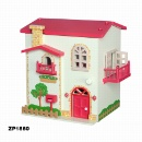 Wooden Toy House (China)