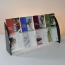 Acrylic Leaflet Holder, Booklet rack, brochure display (China)