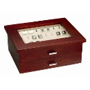 Wooden Cufflink Box (Hong Kong)