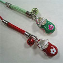 Mobile Phone Strap with Shoe Pendant (Taiwan)