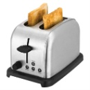 Stainless Steel 2 Slice Toaster  (China)
