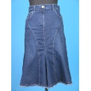 Denim Skirt - flared (Hong Kong)