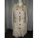 Ladies' cotton twill woven long Coat (Hong Kong)