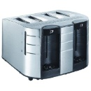 4-Slice Full Function Stainless Steel Toaster (China)
